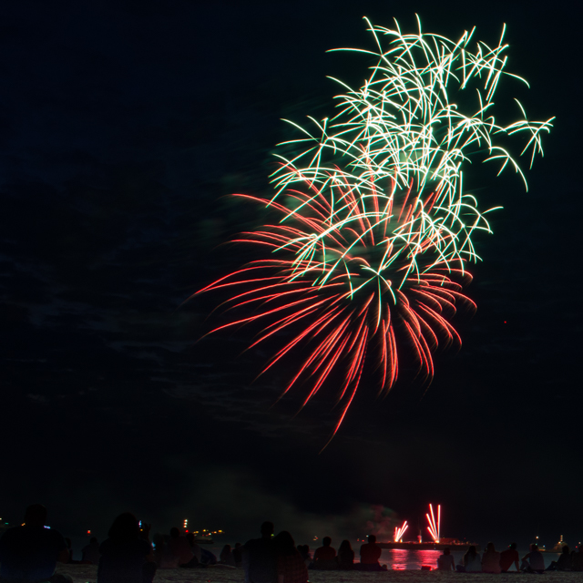 Quick tips on photographing fireworks