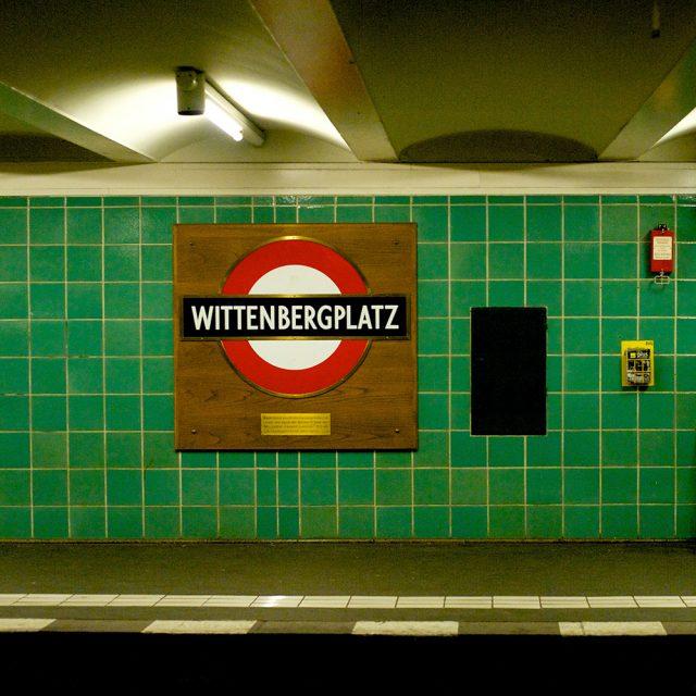 Berlin: U-Bahn station Wittenbergerplatz