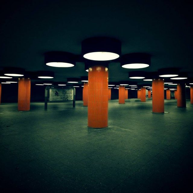 Berlin: Pedestrian Tunnel Messe